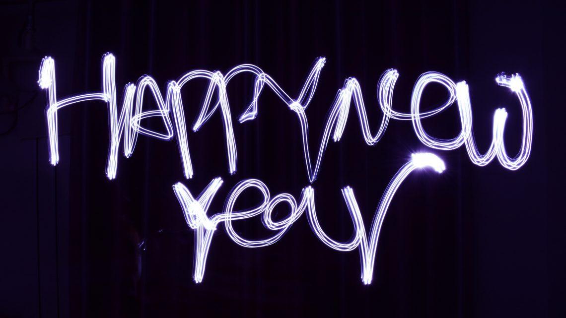 Een nieuw jaar, met nieuwe voornemens